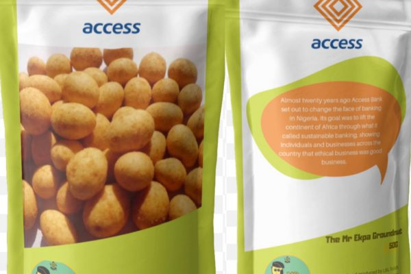 Access Bank Product packaging
